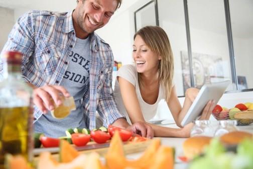 alt pareja encimera cocina