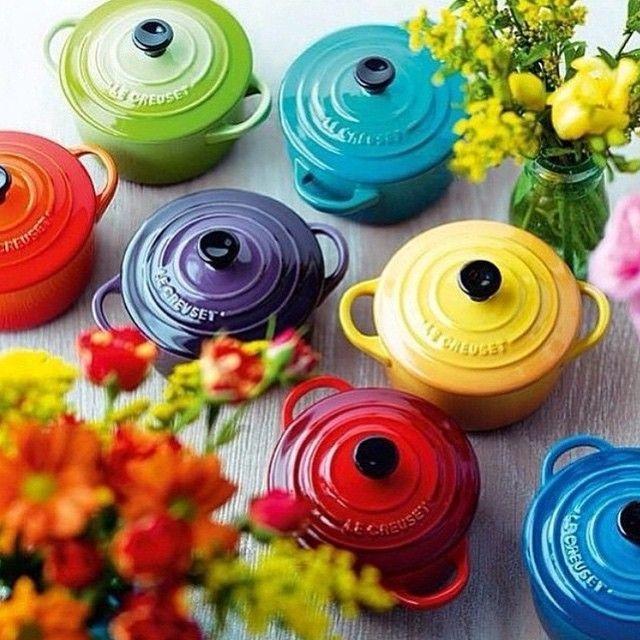 ollas coloridas cocina