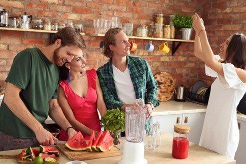 amigos isla cocina