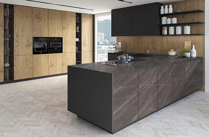 Well-organized kitchens are a guarantee of comfort (Image: Levantina)