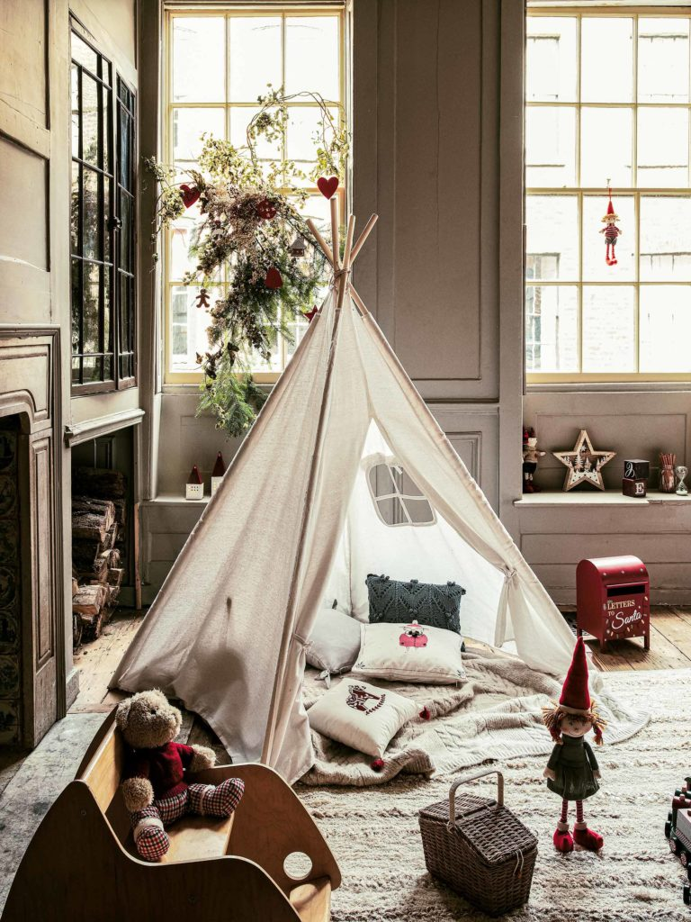 Tent in the living room