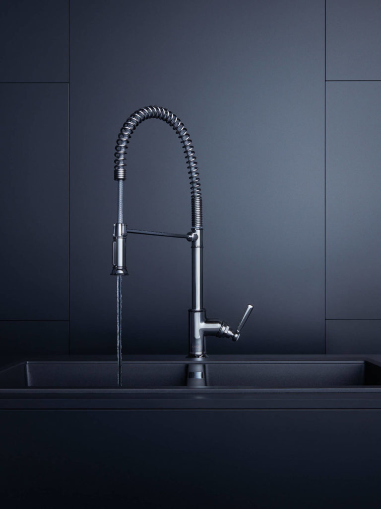 Flexible design taps that make a difference. Image source: AXOR