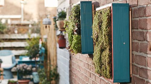 Una gran idea son los pequeños huertos urbanos (Fuente imagen: Leroy Merlin)