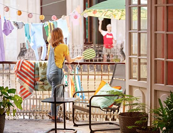 En estos días las terrazas han cobrado un total protagonismo (Fuente imagen: Ikea)