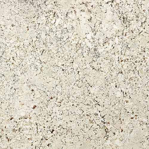 Bianco trevi encimeras de granito naturamia collection for Granito color blanco