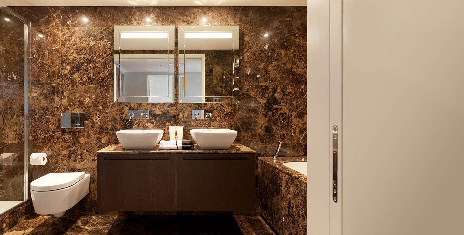 Encimera de baño de mármol - Inspiración - Levantina