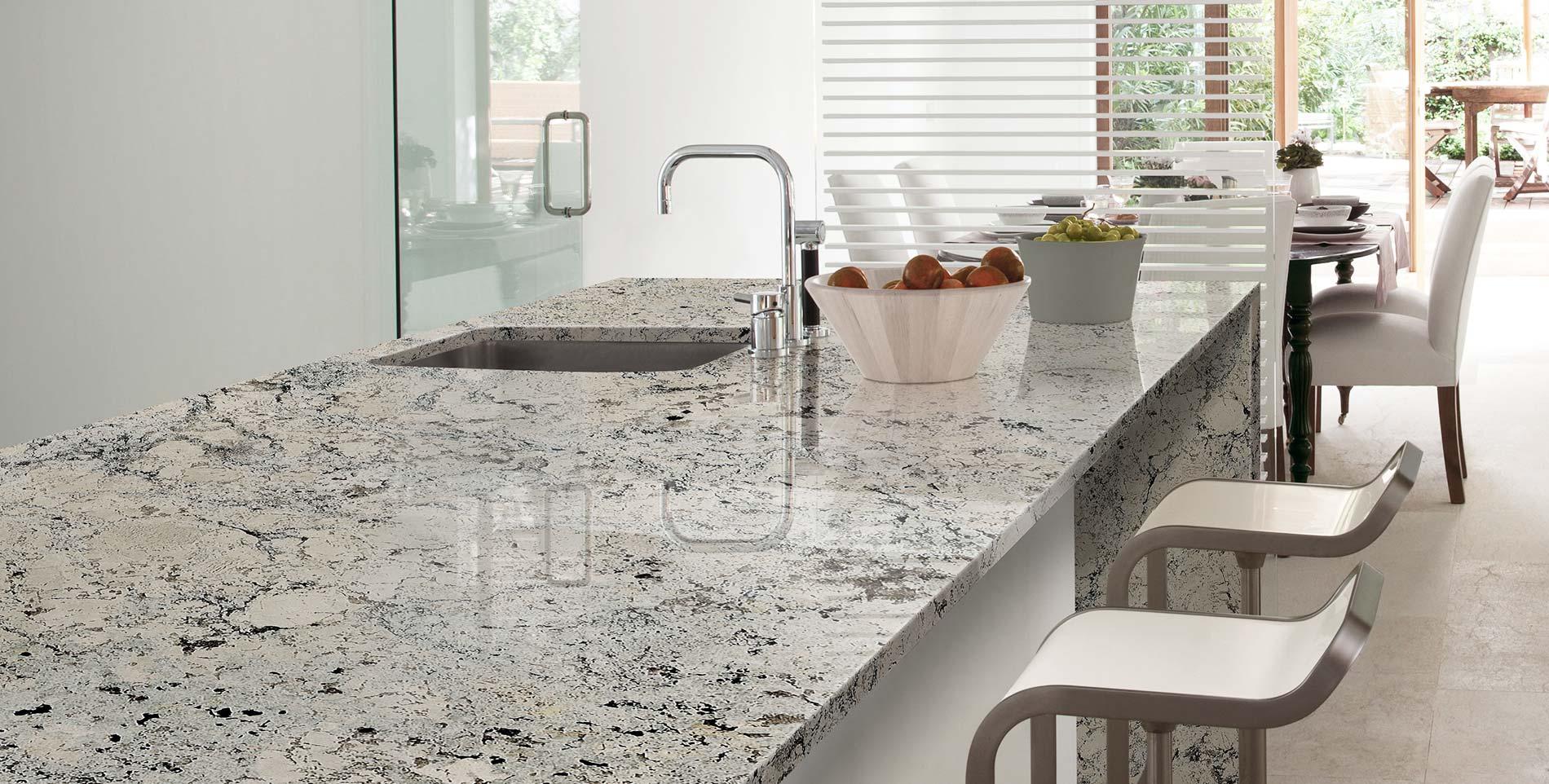 Levantina minimalist kitchen - Encimeras de marmol para cocinas ...