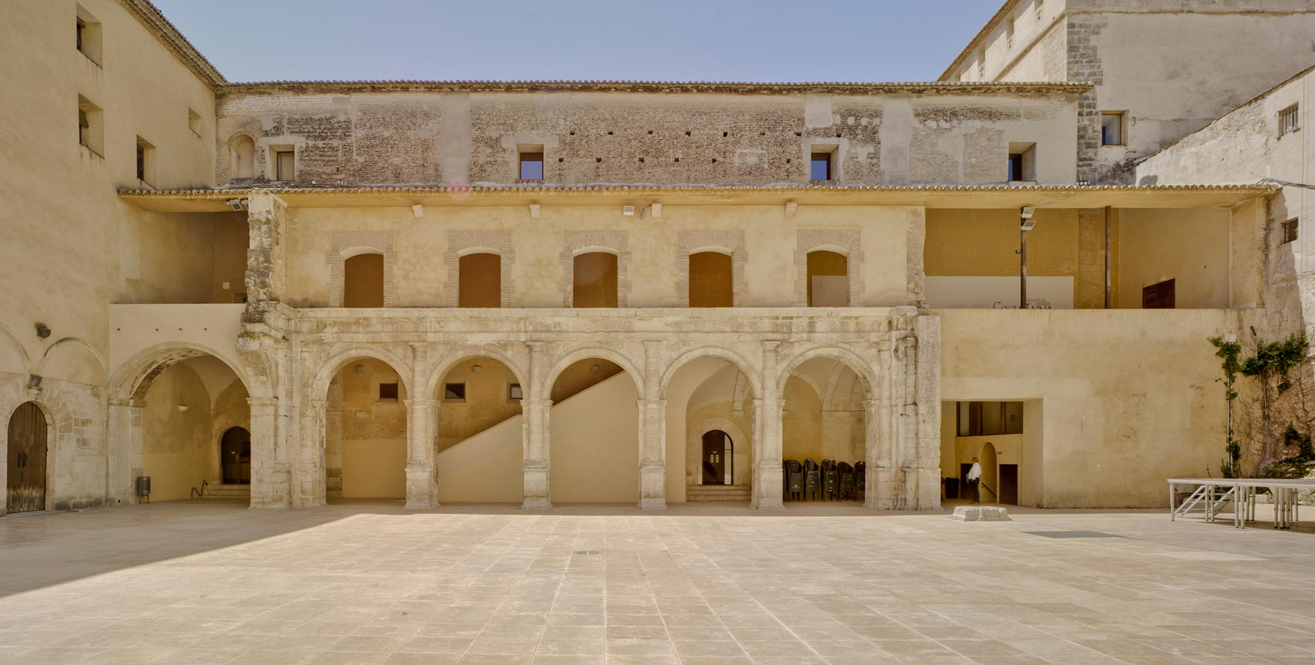 Palacio condal de cocentaina pavex colours project - Cocentaina espana ...
